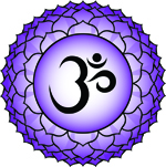 Crown Chakra Tattoo for Divine Connection and Bliss